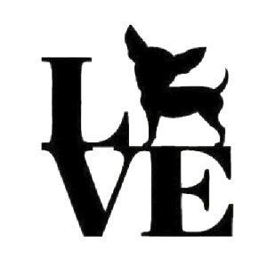 Download Chihuahua dog love SVG PNG JPG Cricut & Silhouette | Etsy ...