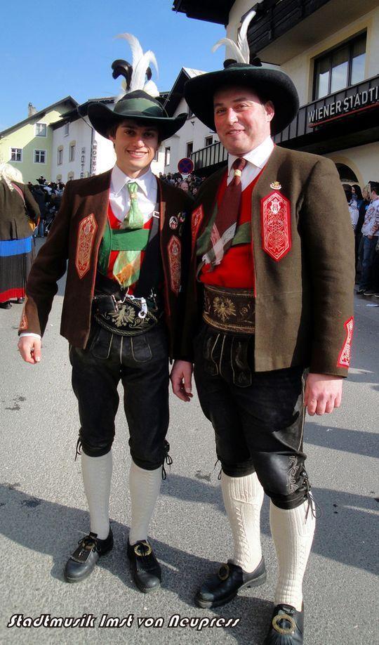 Tirol,Austria - Tirolean Folk Costume
