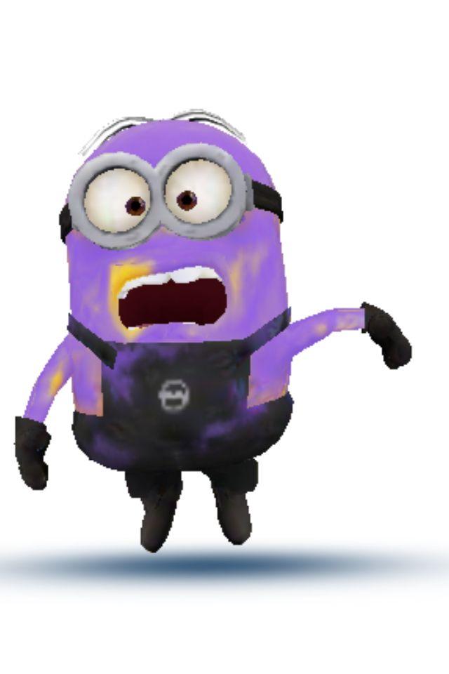 Violet minion