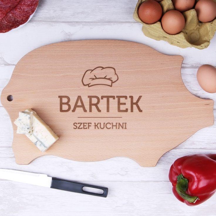 Personalizowana deska świnka SZEF KUCHNI