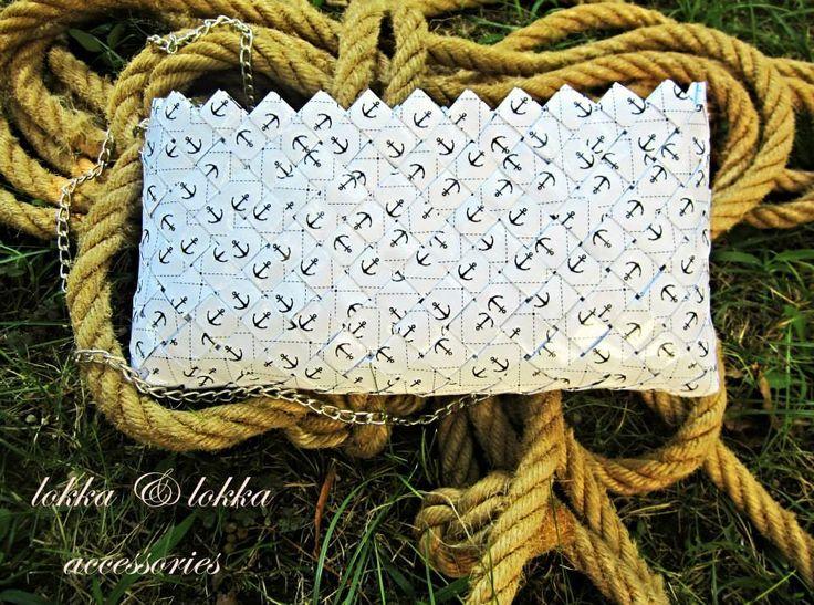 Handmade paper bag for overseas...  by loulouditsa!