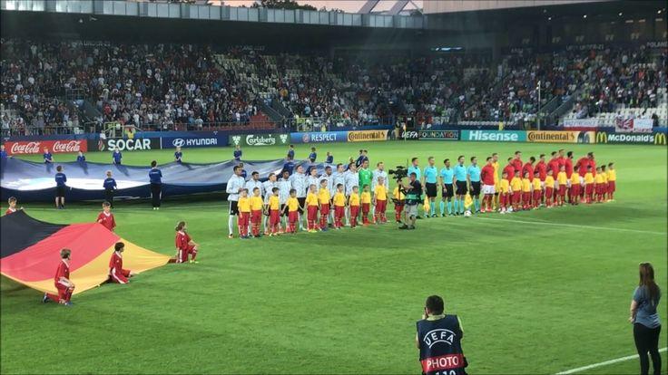 U21: Germany - Denmark. 2017-06-21