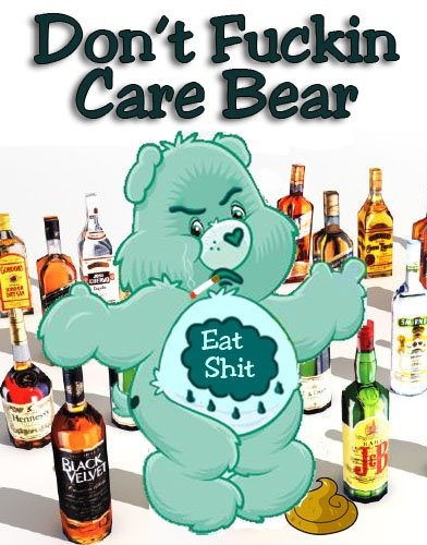 This would be the first Care Bear that I liked!