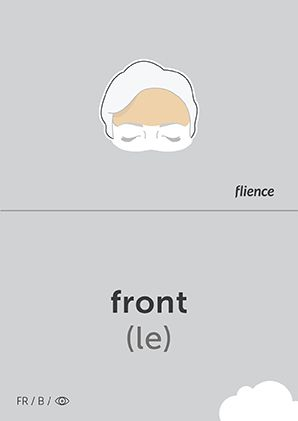 Front #CardFly #flience #human #french #education #flashcard #language