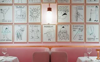 2The world is pink:  The Gallery by India Mahdavi