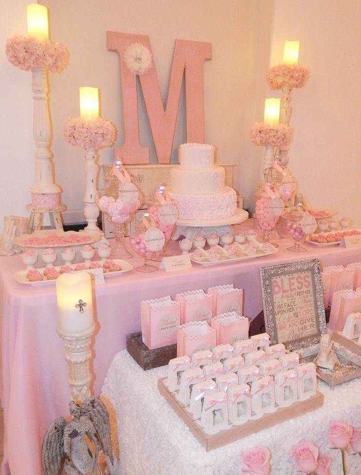 15 best first holy communion cakes images on pinterest - Decoration table communion fille ...