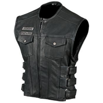 Street & Steel. Anarchy Leather Motorcycle Vest Zippertravel.com Digital Edition