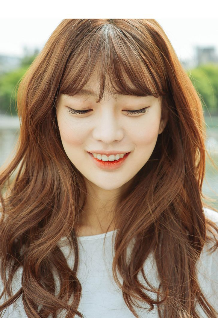 Asian Wavy Hairstyles For Long Hair : Best 25 korean hair color ideas on pinterest natural red