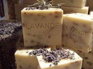 zeep - lavendel bedankje