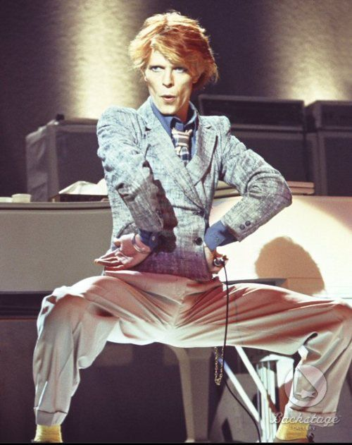 David Bowie's makeover from the apocalyptic androgyne of 1974's Diamond Dogs …