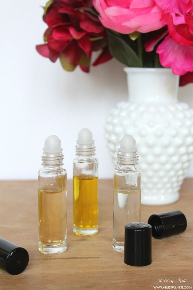 diy roll on perfume by a blissful nest essentialoilblends