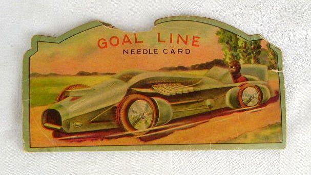 Vintage needle book.