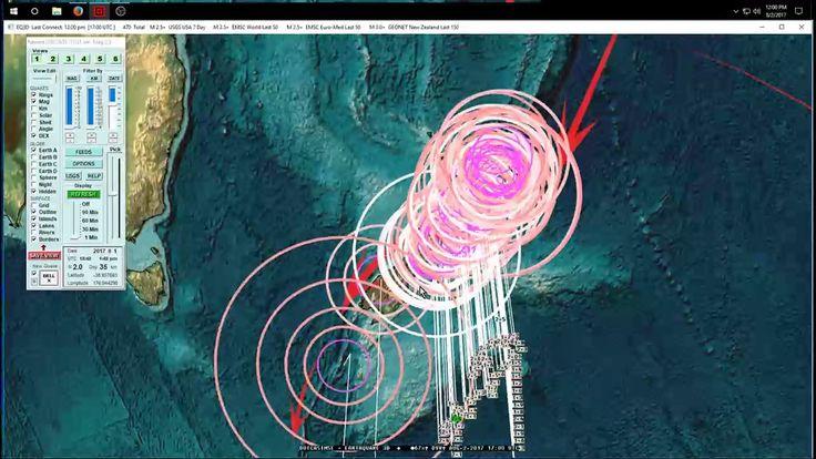 8/02/2017 -- Global Earthquake Update -- Pressure transfer across Europe...