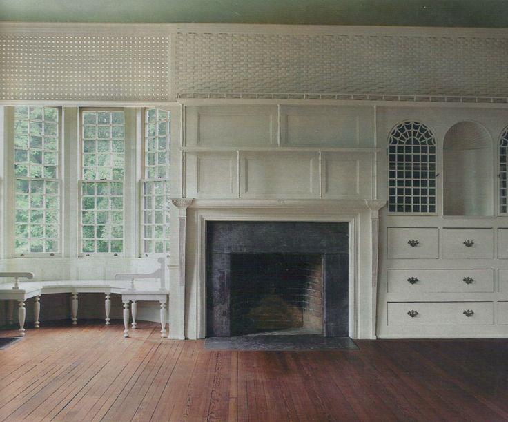 Attractive White Mantel With Dark Stone Surround · Fireplace SurroundsFireplace DesignFireplace  IdeasSide ...