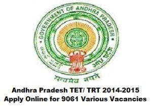 Andhra Pradesh TET 2015 www.dseap.gov.in