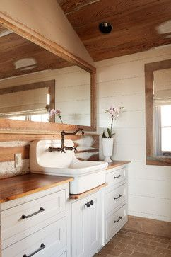 Bonde Road Residence - rustic - bathroom - other metro - Wellborn + Wright