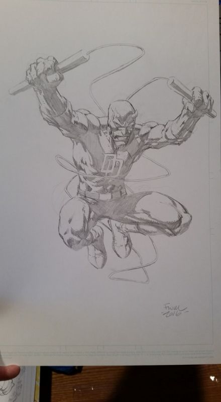 Daredevil by David Finch Comic Art