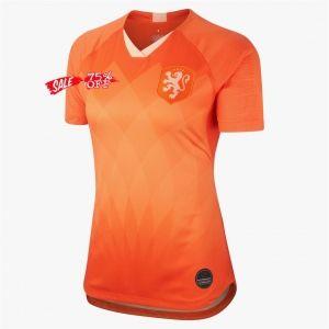 d0d5e6cdb90 2019 Cheap Women World Cup Jersey Netherlands Home Replica Soccer Shirt  2019 Cheap Women World Cup