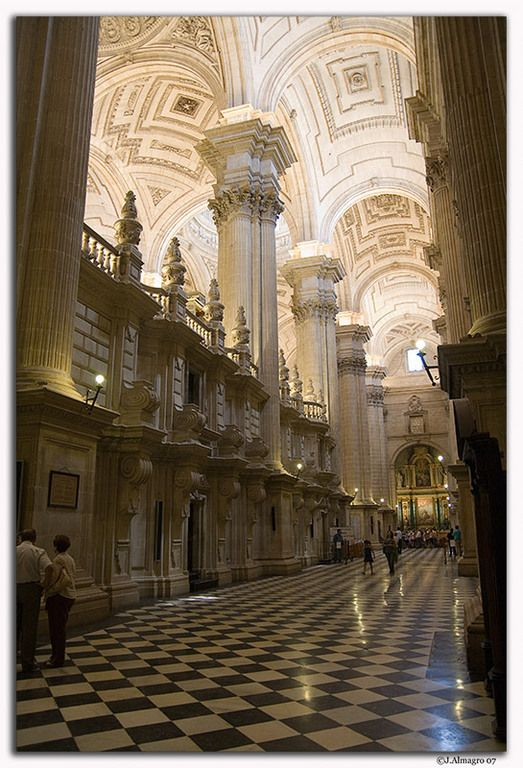 Interior Catedral, Jaen, Spain  ✈✈✈ Don't miss your chance to win a Free Roundtrip Ticket to Cordoba, Spain from anywhere in the world **GIVEAWAY** ✈✈✈ https://thedecisionmoment.com/free-roundtrip-tickets-to-europe-spain-cordoba/