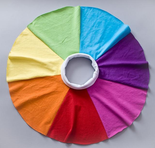 Rainbow Circle Skirt
