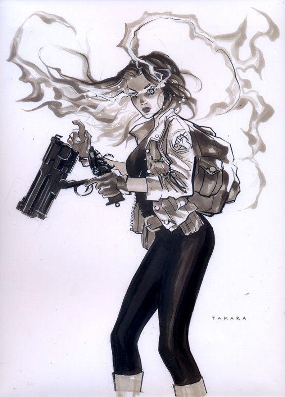 commission - Liz Sherman by marciotakara on DeviantArt