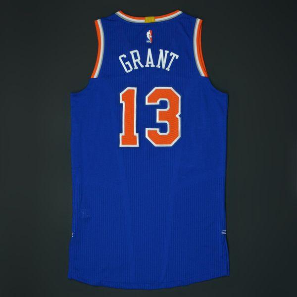 Jerian Grant - New York Knicks - Game-Worn