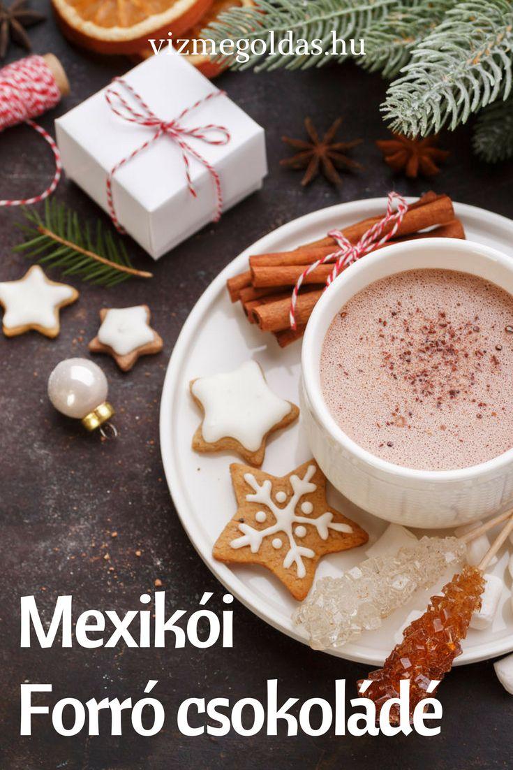 Egészséges receptek -  Mexikói forró csokoládé növényi tejből