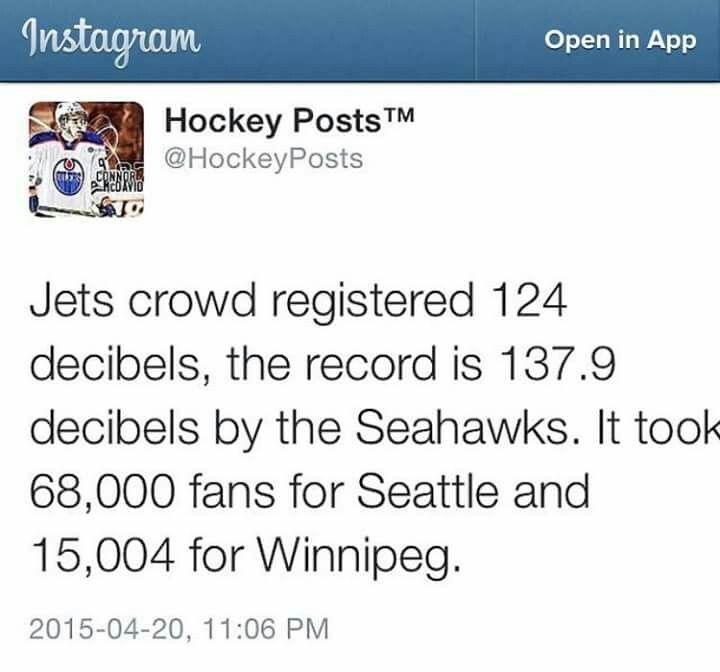 Winnipeg Fans are #1!