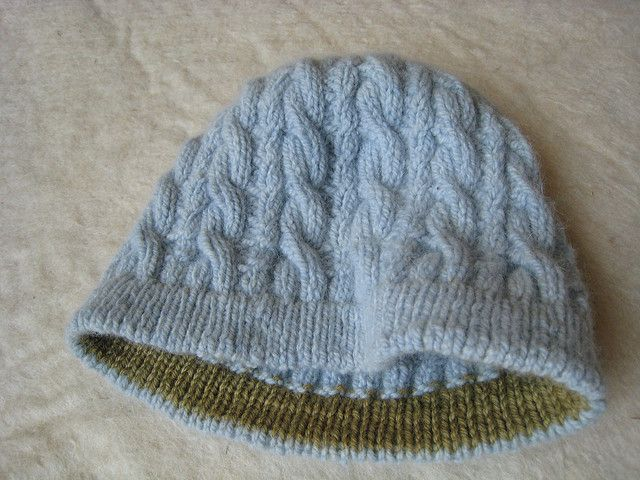 92 Best Baby Hats Knit Cable Pattern Images On Pinterest