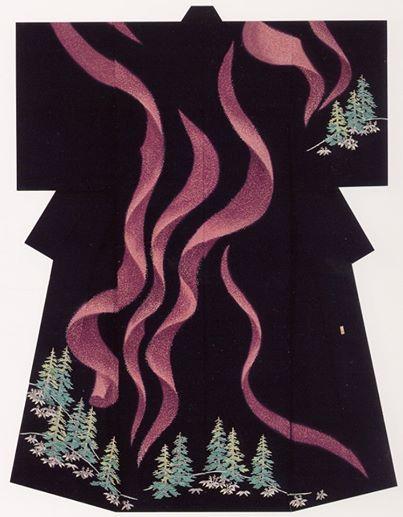 A northern lights kimono?!?!?! NEED!!!!!!!!!