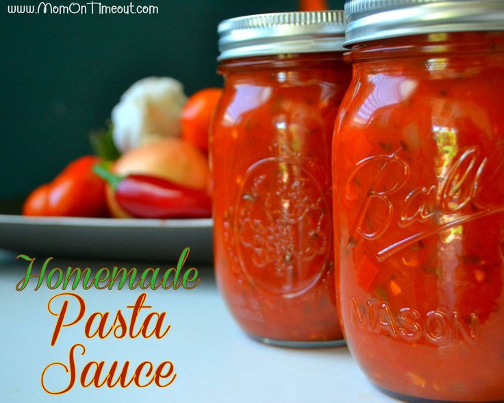 Canning your own homemade pasta sauce is easier than you might think! This recipe is so delicious and takes advantage of all the fresh flavors of summer.