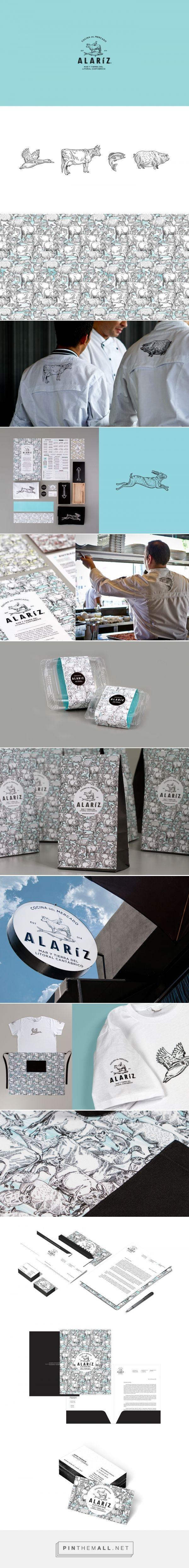 Alaríz Restaurant Branding and Menu Design by Henriquez Lara Estudio | Fivestar Branding Agency – Design and Branding Agency & Curated Inspiration Gallery
