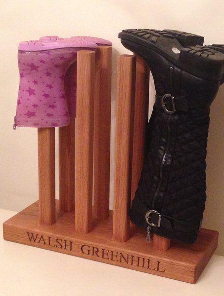Wellington boot holders