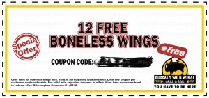 buffalo wild wings printable coupons 20 best images about buffalo wings coupons on 20719 | 352595e5654902f420db551a7294b0b7