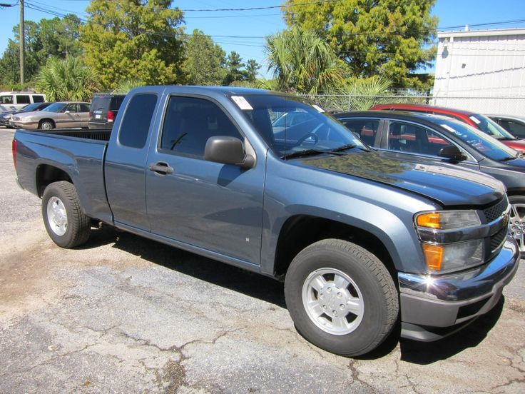 2007 CHEVY COLORADO LT Miles: 75,508 http://www.pwuc.com/inventory/used-2007-chevy-colorado-for-sale-gainesville-fl/