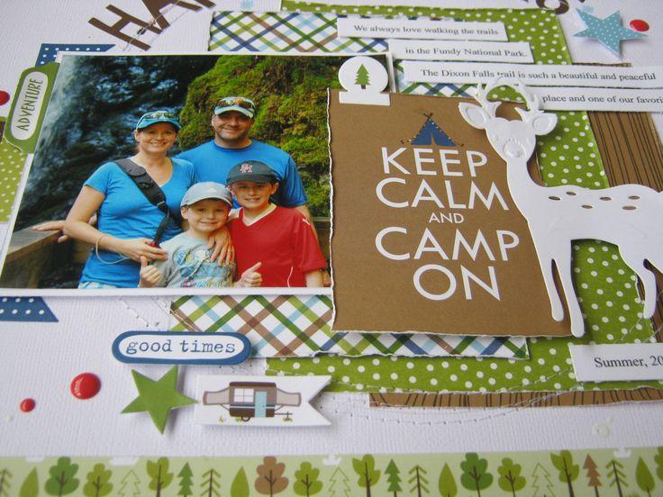 Happy Campers - Scrapbook.com