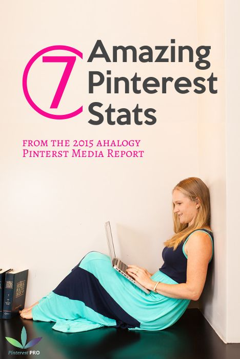 Good to know! 2015 Pinterest Stats - Pinterest PRO Danielle Miller shares 7 Amazing Stats for Business Owners