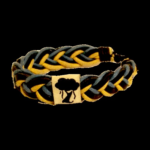 The Blue/Yellow Karma Bracelet. You buy a bracelet; we donate a textbook to a child in need. Get yours at http://www.jatalo.com/shop#ecwid:category=0=product=5855927. #jatalo #bracelet