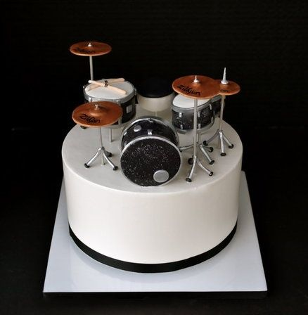 Drum Set Cake Decorations Drum Set Cake by MUSICA ...