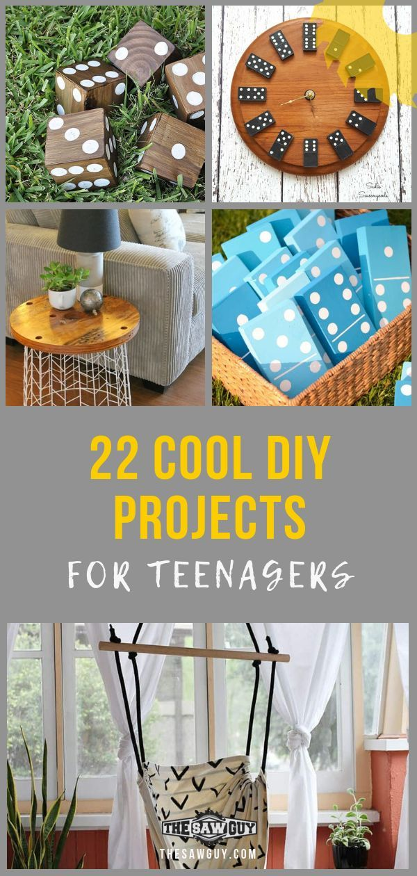 22 Cool Diy Projects For Teenagers The Saw Guy Easy Woodworking Projects Cool Diy Projects Cool Woodworking Projects