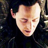 Loki gets surprised and is NOT pleased during Dark World