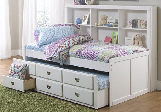 Bedroom Decorative Full Size Daybed Frame With Drawers