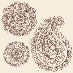 how to draw a floral pattern - Google Search