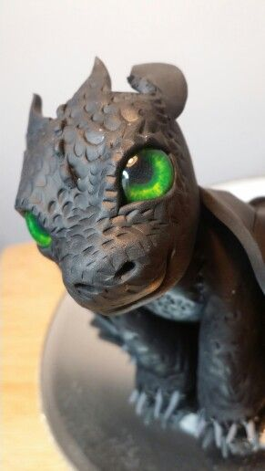 Polymer clay toothless!