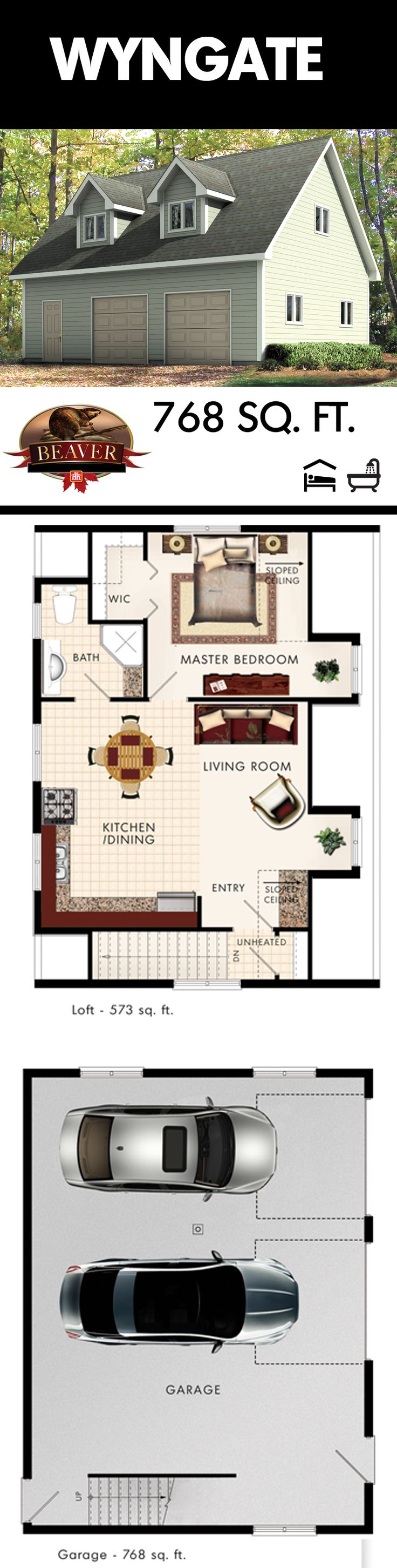 Best 20+ Garage apartment plans ideas on Pinterest | 3 bedroom ...