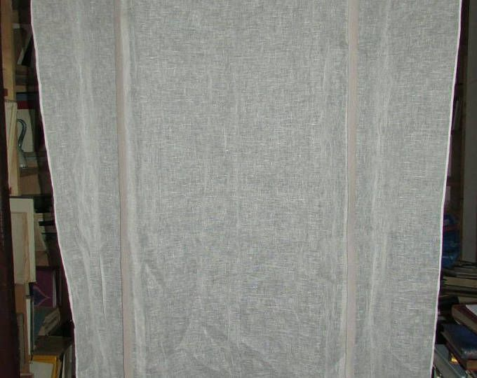 Old lace hook/french antic linen curtains linen veil(sail) curtain STORE