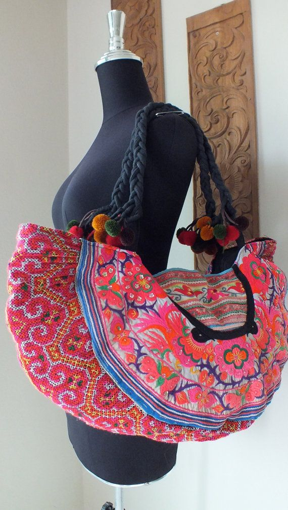 Hmong Ethnic handmade bag - so cool.