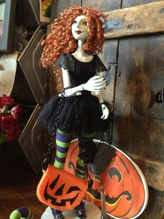 The Scary Godmother Doll by Jill Thompson — Kickstarter - http://www.kickstarter.com/projects/1327932176/the-scary-godmother-doll