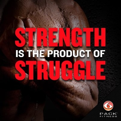 """""""The dictionary is the only place that success comes before work."""" -Vince Lombardi STRENGTH is the product of STRUGGLE! www.sixpackbags.com #TravelFit"""