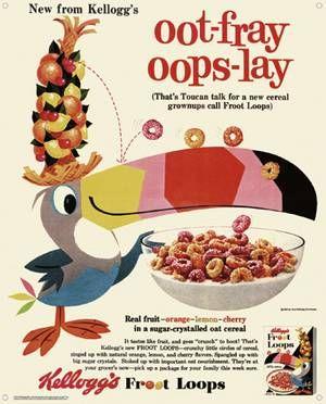 Kellogg's introduced Fruit Loops
